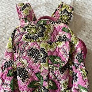 Pink Vera Bradley Bookbag